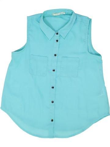 Blusa de manga corta niña GEMO azul 14 años verano #1458915_1