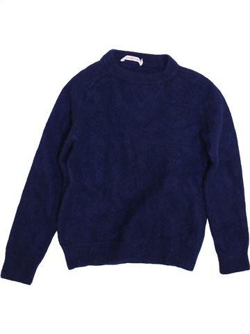 Pull fille MONOPRIX violet 8 ans hiver #1458940_1