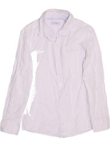 Camisa de manga larga niño OKAIDI blanco 6 años invierno #1458947_1