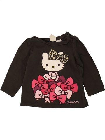 Camiseta de manga larga niña H&M negro 3 meses invierno #1458958_1