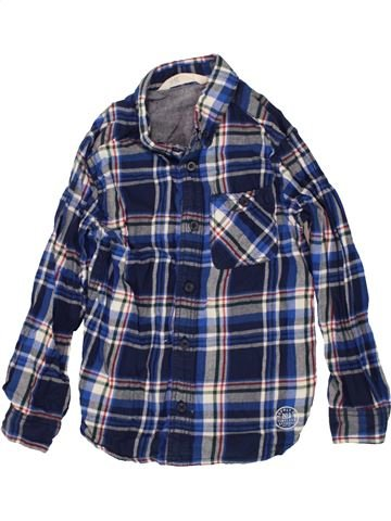 Camisa de manga larga niño H&M azul 6 años invierno #1459038_1