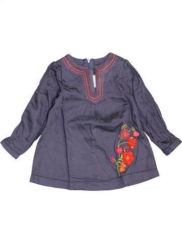 Blusa de manga larga niña ORCHESTRA azul 3 años invierno #1459112_1