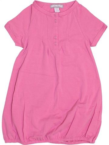 Vestido niña ORCHESTRA rosa 6 años invierno #1459126_1