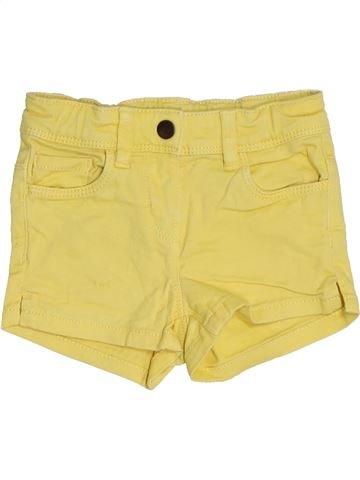 Short-Bermudas niña KIABI amarillo 4 años verano #1459131_1