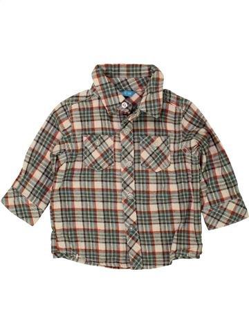 Camisa de manga larga niño HEMA marrón 6 meses invierno #1459227_1