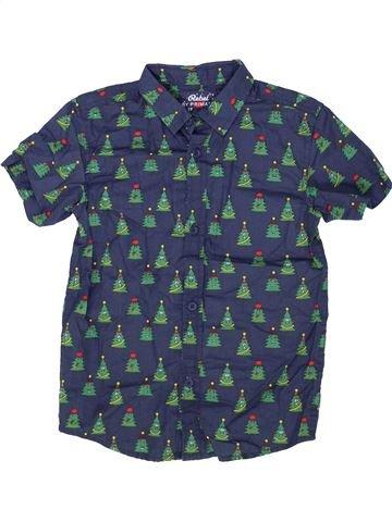 Camisa de manga corta niño PRIMARK azul 8 años verano #1459291_1