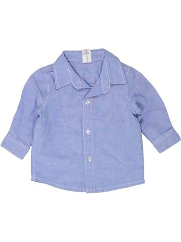 Camisa de manga larga niño C&A violeta 6 meses invierno #1459299_1