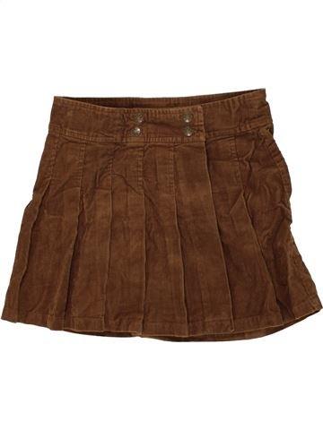 Falda niña ONE BY ONE marrón 12 años invierno #1459353_1