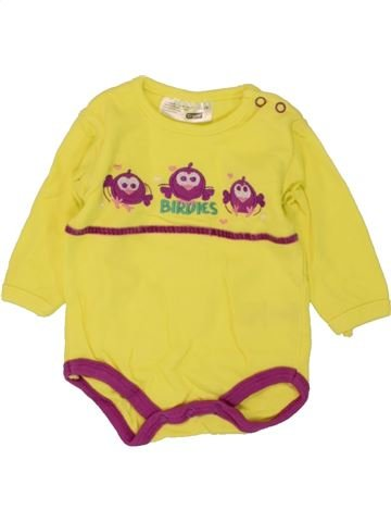 Camiseta de manga larga niña ERGEE amarillo 1 mes invierno #1459374_1