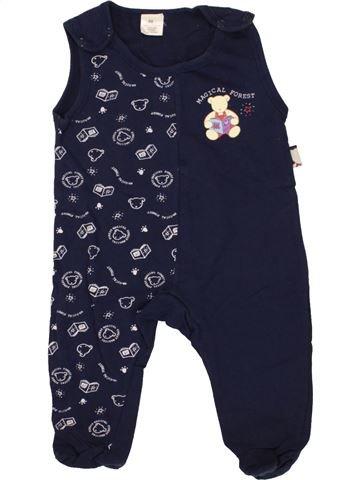 Pijama de 1 pieza niño SANS MARQUE azul 6 meses invierno #1459397_1