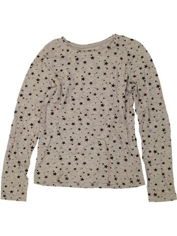 Camiseta de manga larga niña PRIMARK gris 11 años invierno #1459650_1