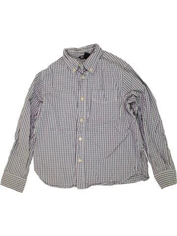 Camisa de manga larga niño H&M gris 10 años invierno #1459687_1