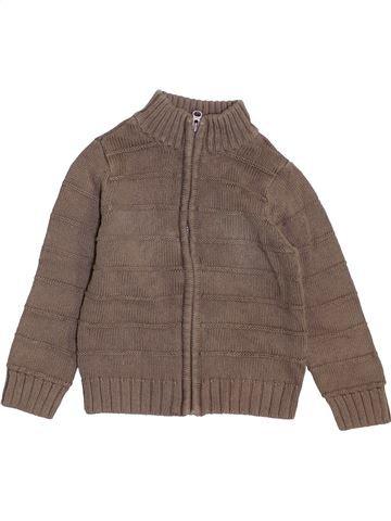 Chaleco niño CHEROKEE marrón 3 años invierno #1459713_1