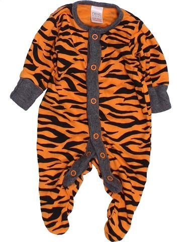 Pyjama 1 pièce garçon NEXT marron naissance été #1459747_1