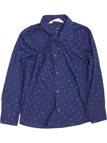 Camisa de manga larga niño H&M azul 7 años invierno #1459822_1