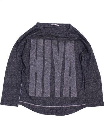 T-shirt manches longues fille NEXT gris 5 ans hiver #1459842_1