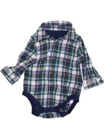 Chemise manches longues garçon MOTHERCARE bleu 6 mois hiver #1459970_1
