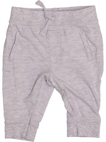 Pantalon garçon BLUEZOO gris 3 mois hiver #1460049_1