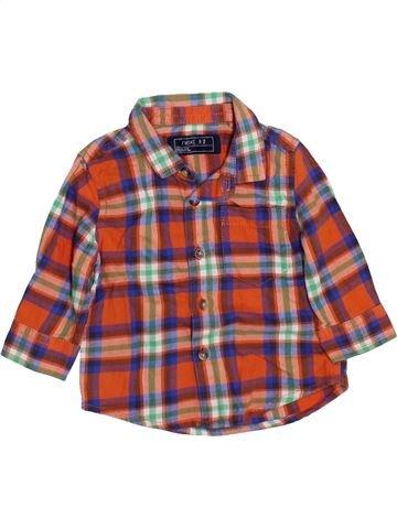 Camisa de manga larga niño NEXT marrón 6 meses invierno #1460055_1