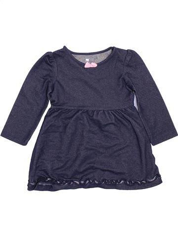 Vestido niña HEALTHTEX azul 18 meses invierno #1460057_1