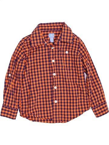 Camisa de manga larga niño GAP violeta 4 años invierno #1460142_1