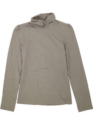 Camiseta de cuello alto niña C&A gris 12 años invierno #1460290_1