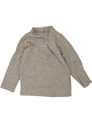 T-shirt manches longues fille GENERATION Z beige 12 mois hiver #1460506_1