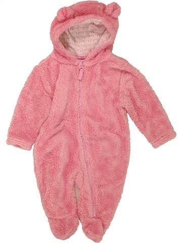 Robe de chambre fille TOPOLINO rose 3 mois hiver #1460717_1