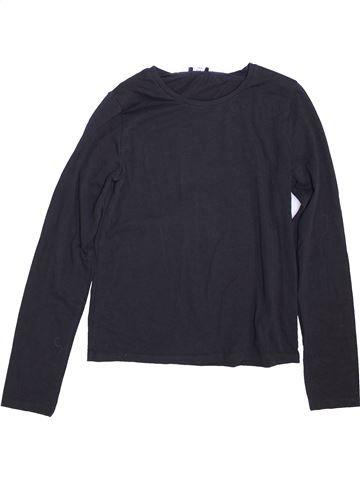 T-shirt manches longues fille KYLIE noir 12 ans hiver #1460732_1