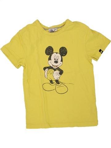 T-shirt manches courtes garçon DISNEY jaune 10 ans été #1461261_1