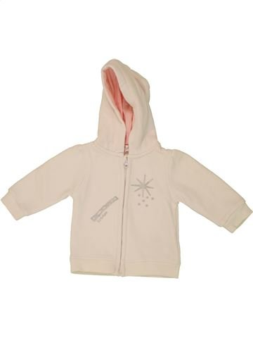 Sweat fille KIMBALOO beige 6 mois hiver #1461269_1