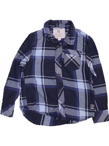 Chemise manches longues garçon GARCIA JEANS bleu 5 ans hiver #1461641_1