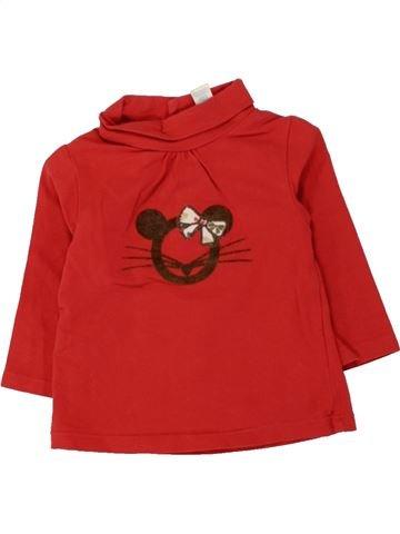 Camiseta de cuello alto niña OBAIBI rojo 6 meses invierno #1461657_1