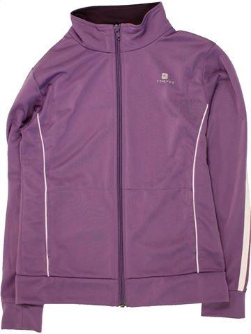 Ropa deportiva niña DOMYOS violeta 10 años invierno #1461792_1