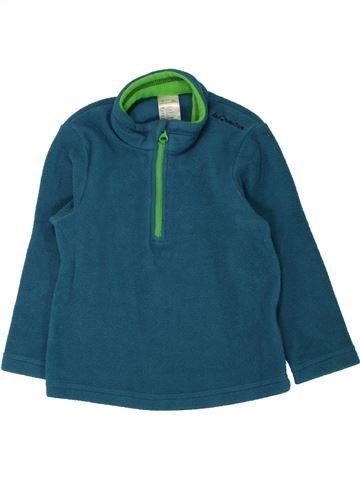 jersey niño QUECHUA verde 2 años invierno #1462348_1