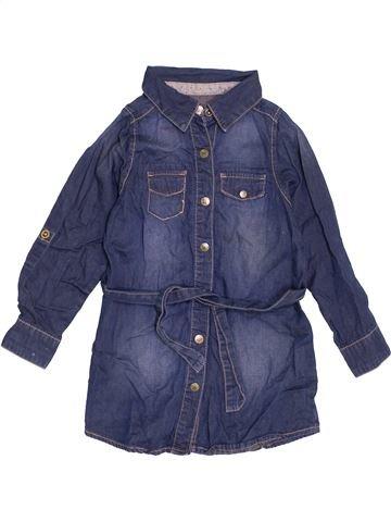 Robe fille LISA ROSE bleu 3 ans hiver #1462381_1