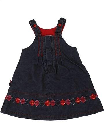 Robe fille CATIMINI bleu foncé 6 mois hiver #1462476_1