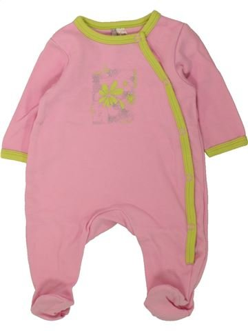Pyjama 1 pièce fille ORCHESTRA rose 1 mois été #1462669_1