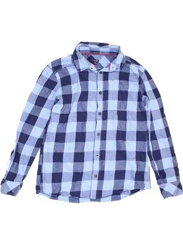 Chemise manches longues garçon KIABI violet 12 ans hiver #1462731_1