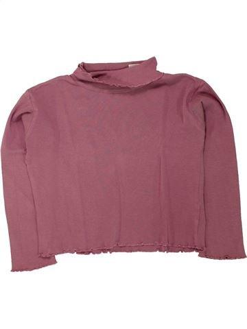 Camiseta de cuello alto niña LA REDOUTE CRÉATION marrón 8 años invierno #1462873_1