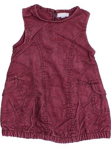 Robe fille BAKKABOE violet 12 mois hiver #1463596_1