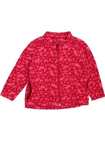 Chaleco niña QUECHUA rojo 2 años invierno #1463894_1