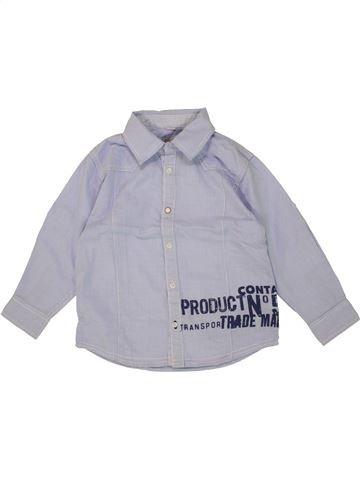 Camisa de manga larga niño CONFETTI violeta 4 años invierno #1464080_1
