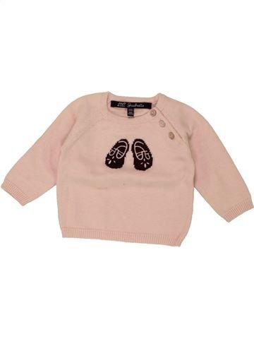 jersey niña LILI GAUFRETTE rosa 3 meses invierno #1464146_1