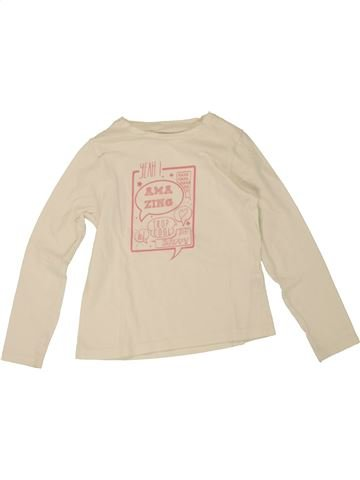 T-shirt manches longues fille ORCHESTRA beige 5 ans hiver #1464217_1