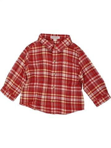 Camisa de manga larga niño NATALYS rojo 6 meses invierno #1464250_1