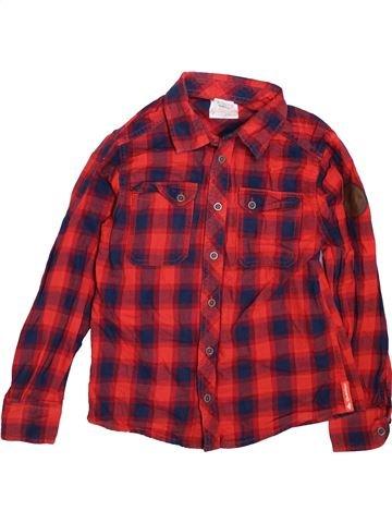 Camisa de manga larga niño QUECHUA violeta 10 años invierno #1464349_1