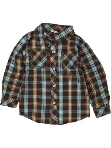 Camisa de manga larga niño HEMA gris 3 años invierno #1464868_1