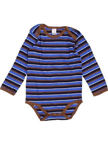T-shirt manches longues garçon TOPOMINI bleu 3 ans hiver #1465025_1