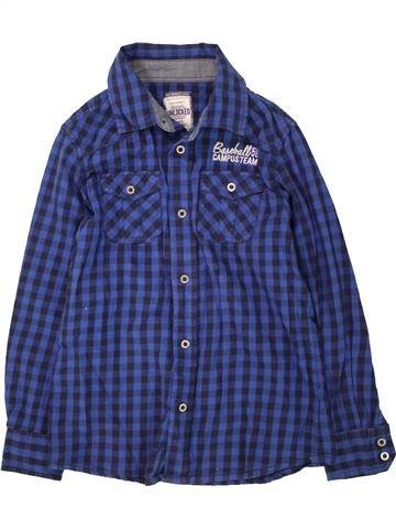 Chemise manches longues garçon UNLOCKED bleu 11 ans hiver #1465060_1